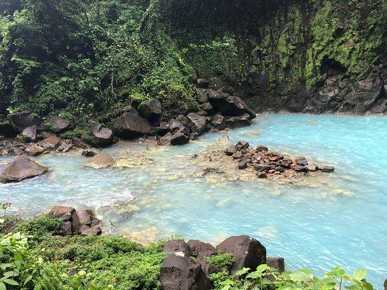 Tenorio Volcano National Park, Costa Rica: rio celeste