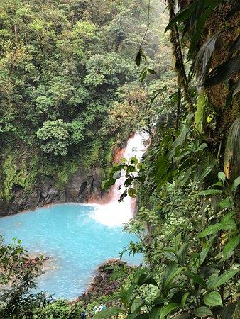 Tenorio Volcano National Park, Costa Rica: catarata o cascada rio celeste