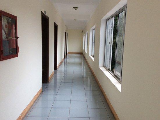 Lao Bao, Vietnam: Hotel hallway