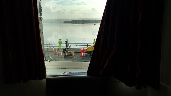 Rhu, UK: Lovely view, little traffic quiet room 2nd floor, no elevator on premises