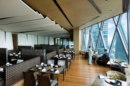 Yamazato, designated a Michelin Plate restaurant. - Main Dining area