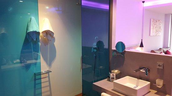 Badezimmerteil Dusche Hat Sichtschutz Rollo Toilette Extra