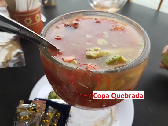San Juan Cosala, Mexico: Evidencia de copas quebradas