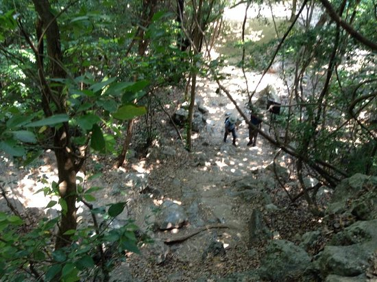 Kui Buri, Thailand: En underbar utflykt med båt, till Monkey Island och vidare till Sam Roi Yot Nationalpark. En all