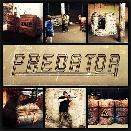 Predator Assault, Laser Combat