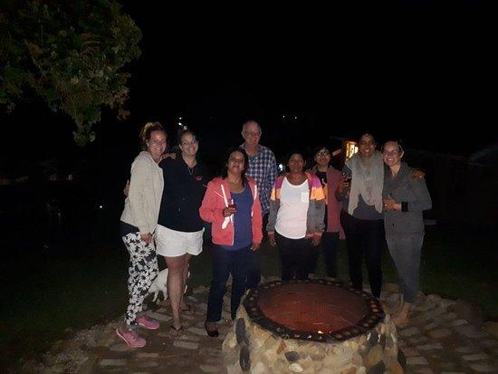 Palm Beach, África do Sul: Boma for bon fire