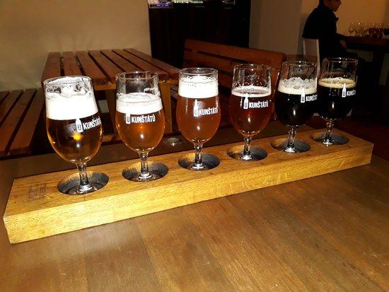 bieres - Picture of U Kunstatu - Craft beer in Old Town
