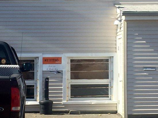 Mestezo Grill Pickup Entrance at back of BPOE Building, 6 Mott Ave