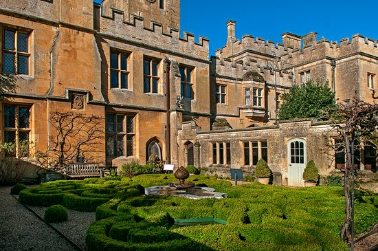 Winchcombe, UK: The beautiful Knot Garden, photo credit John Edwards