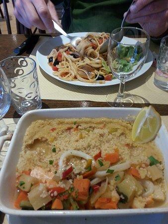 Ploubazlanec, France: couscous poisson