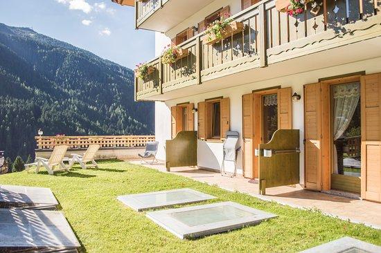 Sant'Antonio di Mavignola, Italy: Giardino delle camere