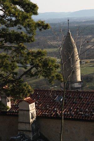 Grad Štanjel : vista dall'alto
