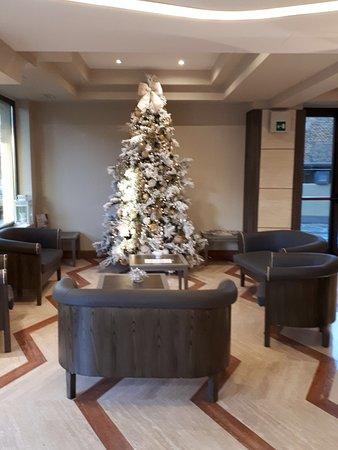 L'albero di Natale nella hall
