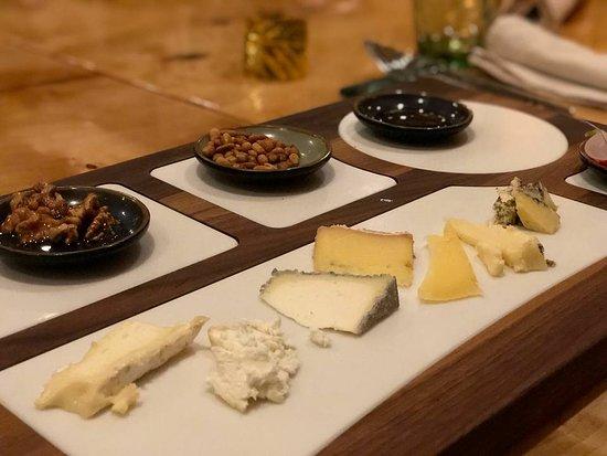 Ridderkerk, Holland: Cheese platter