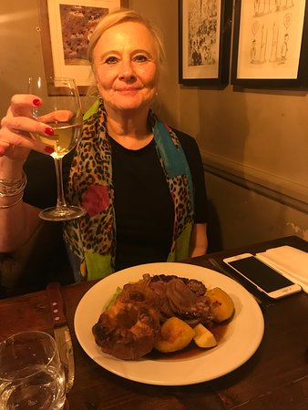 Roast Lamb and a happy mother :-)