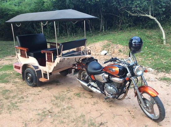 Siem Reap, Cambodia: my tuk tuk
