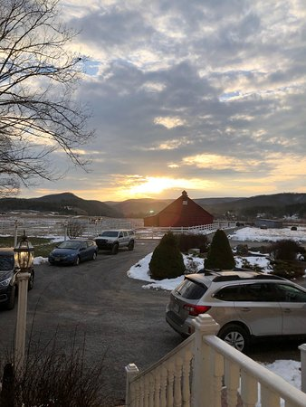 The Inn at Mountain Quest: View from outside our room