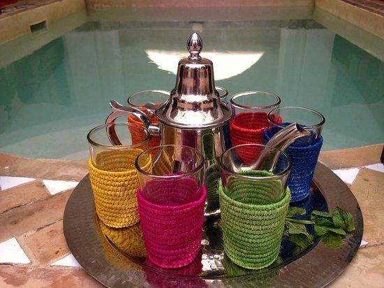 Riad Faiza & Spa Marrakech: thé à la menthe