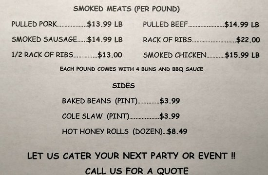 Kirbyville, MO: KIM'S BBQ Shack
