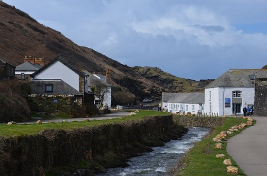 Boscastle, UK: General view of visitor centre