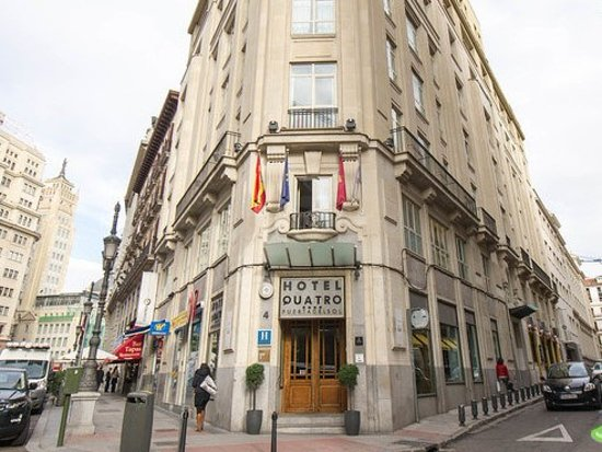 Quatro puerta del sol hotel madrid recenze a srovn n cen tripadvisor - Pension puerta del sol ...