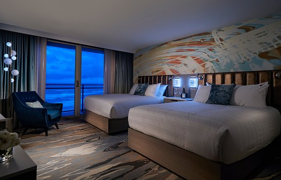 Hard Rock Hotel Daytona Beach Oceanfront Queen Room