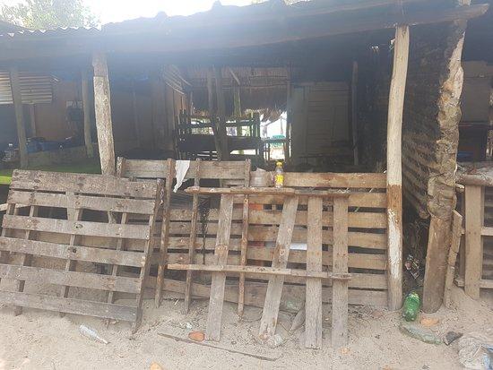 Baru Playa Blanca, donde preparan la comida