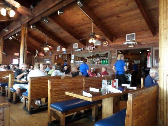 Friendly Fisherman Restaurant Booths