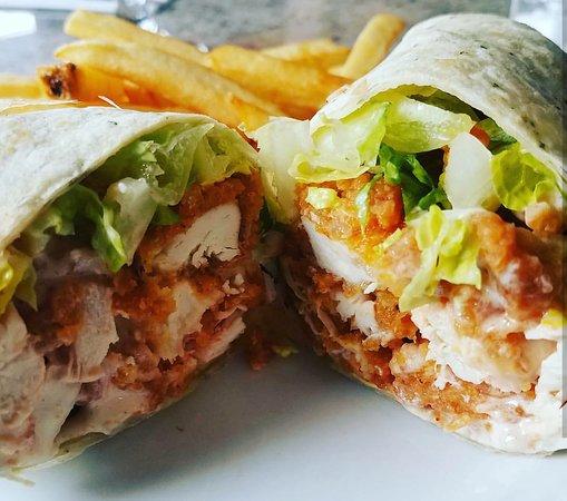 Summit, NJ : Buffalo Chicken Wrap