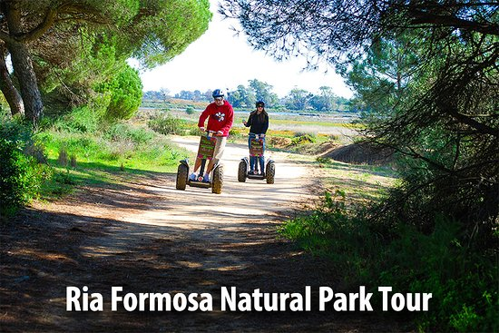 Faro, Portugal: The Ria Formosa Natural Park Segway tour! Our best selling tour!
