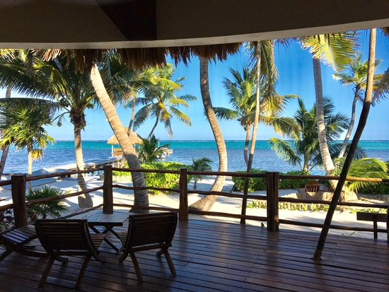 La Perla Del Caribe: Picture from our front deck - huge!