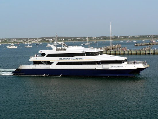 Osterville, Μασαχουσέτη: Going to Nantucket - Fast Ferry by Steamship Authority