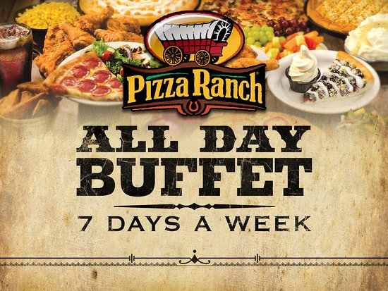 Buffet is available 11 am - 8 pm.  We also take menu orders for carry out and delivery until  9p