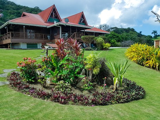 Toco, Trinidad: A look at the grounds.