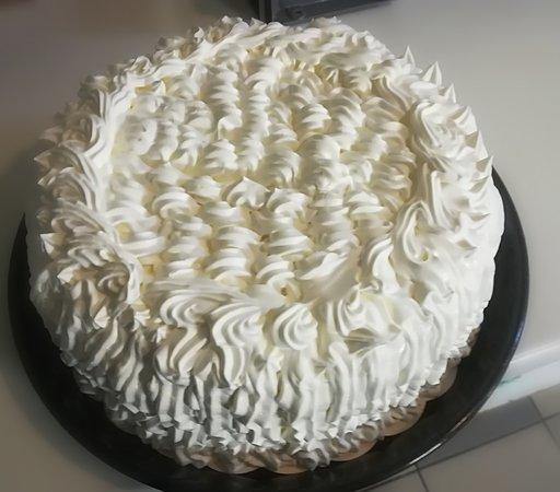Vacherin vanille/framboise MAISON
