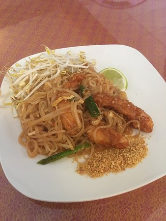Johnson City, Estado de Nueva York: Crispy Chicken Pad Thai