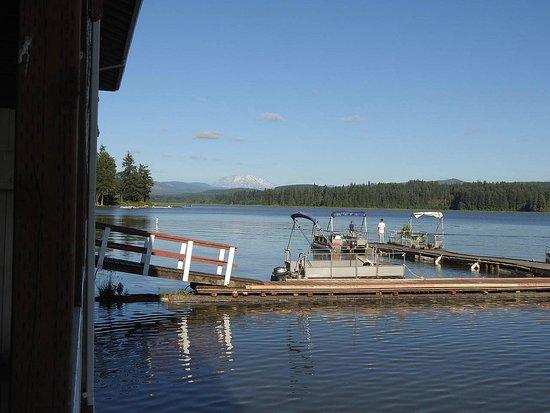 Silverlake, Etat de Washington : Silver Lake Resort - image taken from our porch