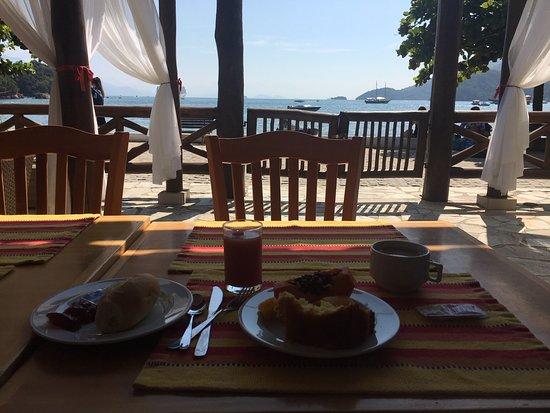 Pousada Recreio da Praia: View from breakfast:)