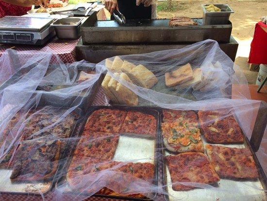 Mercado San Pancho: Pizza's - yumm