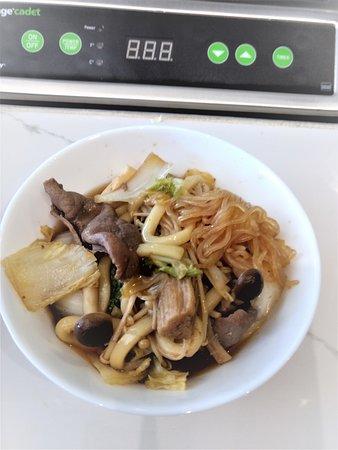 Nabebugyo Hot Pot Cuisine: 2nd portion of the Sukiyaki