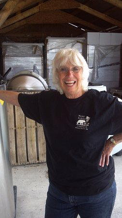 Eagle Rock, VA: Owner and winemaker, Barbara Kolb