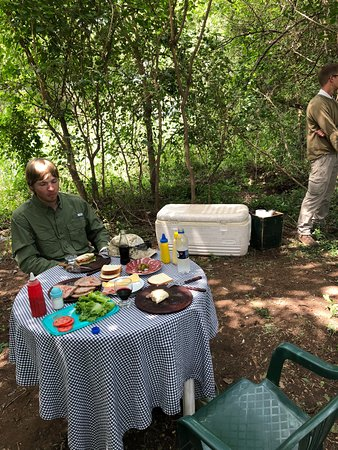 Villa del Totoral, Argentina: Great lunches afield