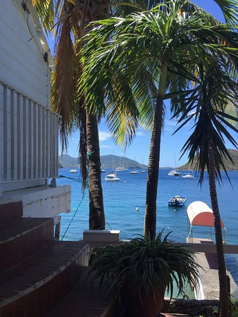 Terre-de-Haut, Guadeloupe: View from the restaurant patio