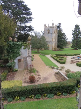 Alderminster, UK: The view from our room window