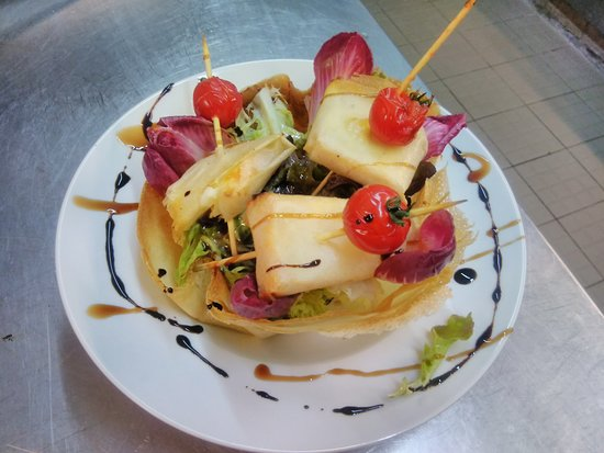 Hotel E Caselle: salade de fromage corse