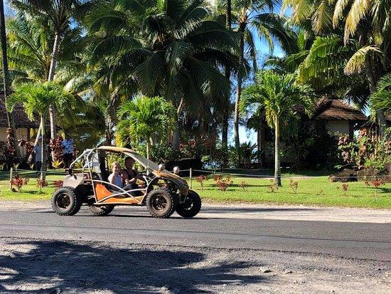 Muri, Ilhas Cook: Dune Buggy