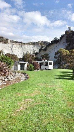 Mangaweka, Nouvelle-Zélande : Spot the camper!