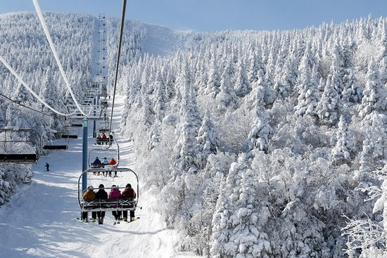 Warren, VT: Sugarbush has16 lifts,111 trails, and summit elevation of 4,083'