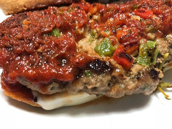 Rangely, CO: Gios Grilled-Fried Italian Meatloaf Sandwich. Saturday's Daily Special.