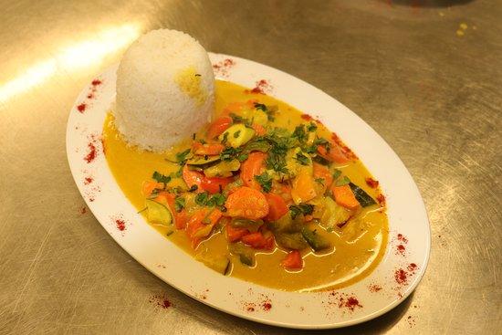 Indische Küche: vegetarische roti . - Picture of Weltwirtschaft ...